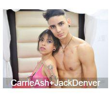 Sexcam Paare Carrie und Jack